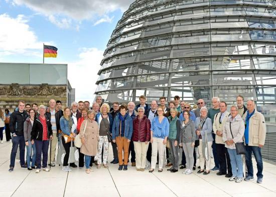 Besuchergruppe aus Hagen